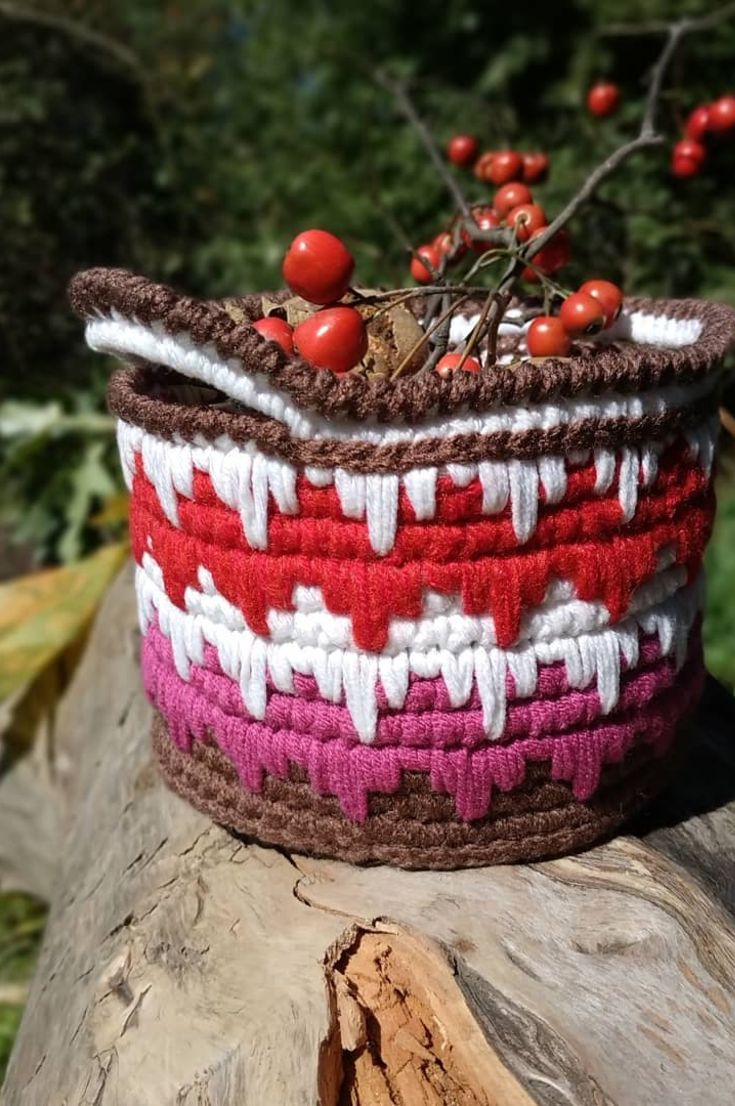 crochet-basket-free-how-to-make-roller-basket-making-combed-basket-from-combed-rope-new-2019